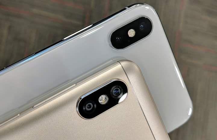 High Tech Red Mi Note Five Pro Cameras Eighteen Ratio Nine Display