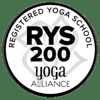 logo yoga alliance registered yoga school