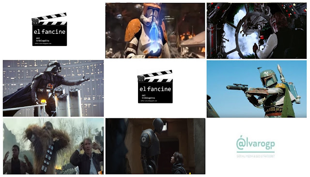 Películas de Star Wars comentadas en el fancine con motivo del Star Wars Day - Star Wars - May the 4th be with you - May the Force be with you - el fancine - cine fantástico - ÁlvaroGP - Social Media & SEO Strategist - SEO