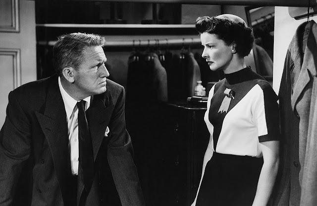 Кэтрин Хепбёрн и Спенсер Трейси: :Любовь на экране и в жизни. 6. «Ребро Адама», 1949