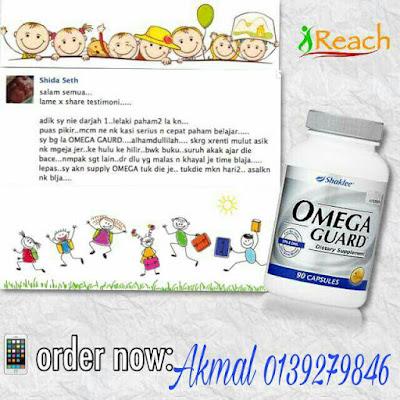 Testimoni Omega Guard Bantu Tingkatkan Kecerdasan Minda Kanak-kanak