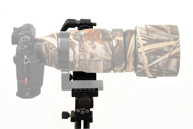 Hejnar Photo Modular Gimbal Head w/ Fujinon 100-400mm