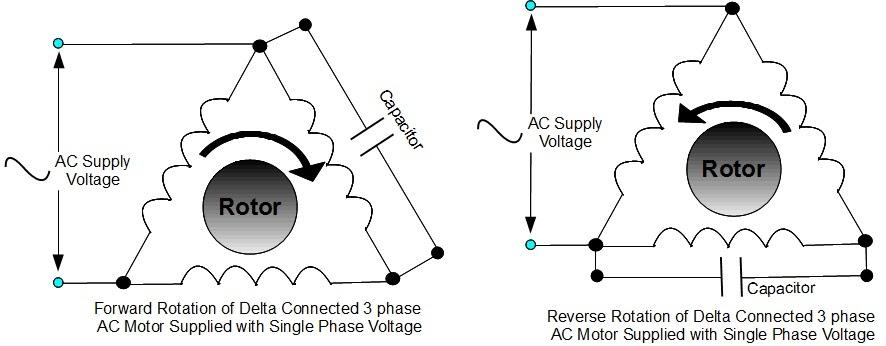 single phase to 3 phase wiring diagram