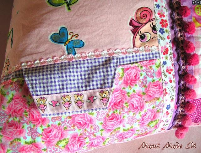 Pretty in Pink - A pillow for my girlie - Ein Kissen für mein Mädchen
