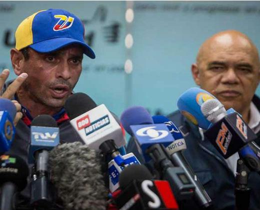 Capriles espera que Trump no expulse a los venezolanos de EE.UU.