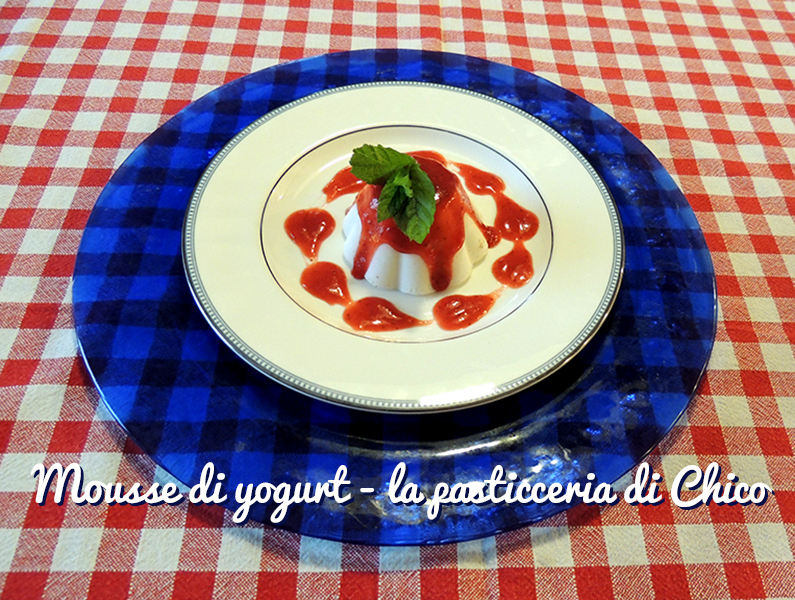 Mousse di yogurt