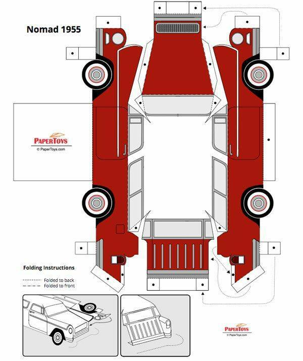 Kumpulan Papercraft Mobil