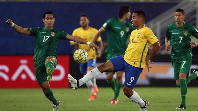 Bolivia vs Brasil en vivo Eliminatorias 5 Octubre