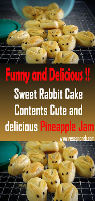 Sweet Rabbit Cake Contents Cute and delicious Pineapple Jam