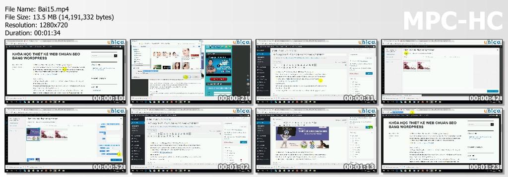 Video Khoá học thiết kế Web chuẩn Seo bằng WordPress cho người mới bắt đầu