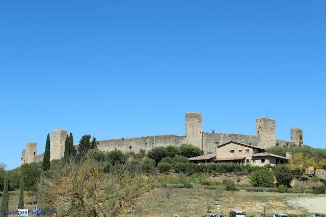 Monteriggioni, Siena, Toscana, Itàlia