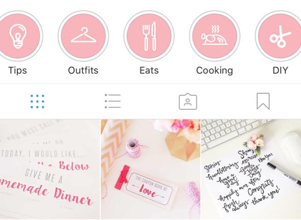 How do you make instagram highlights