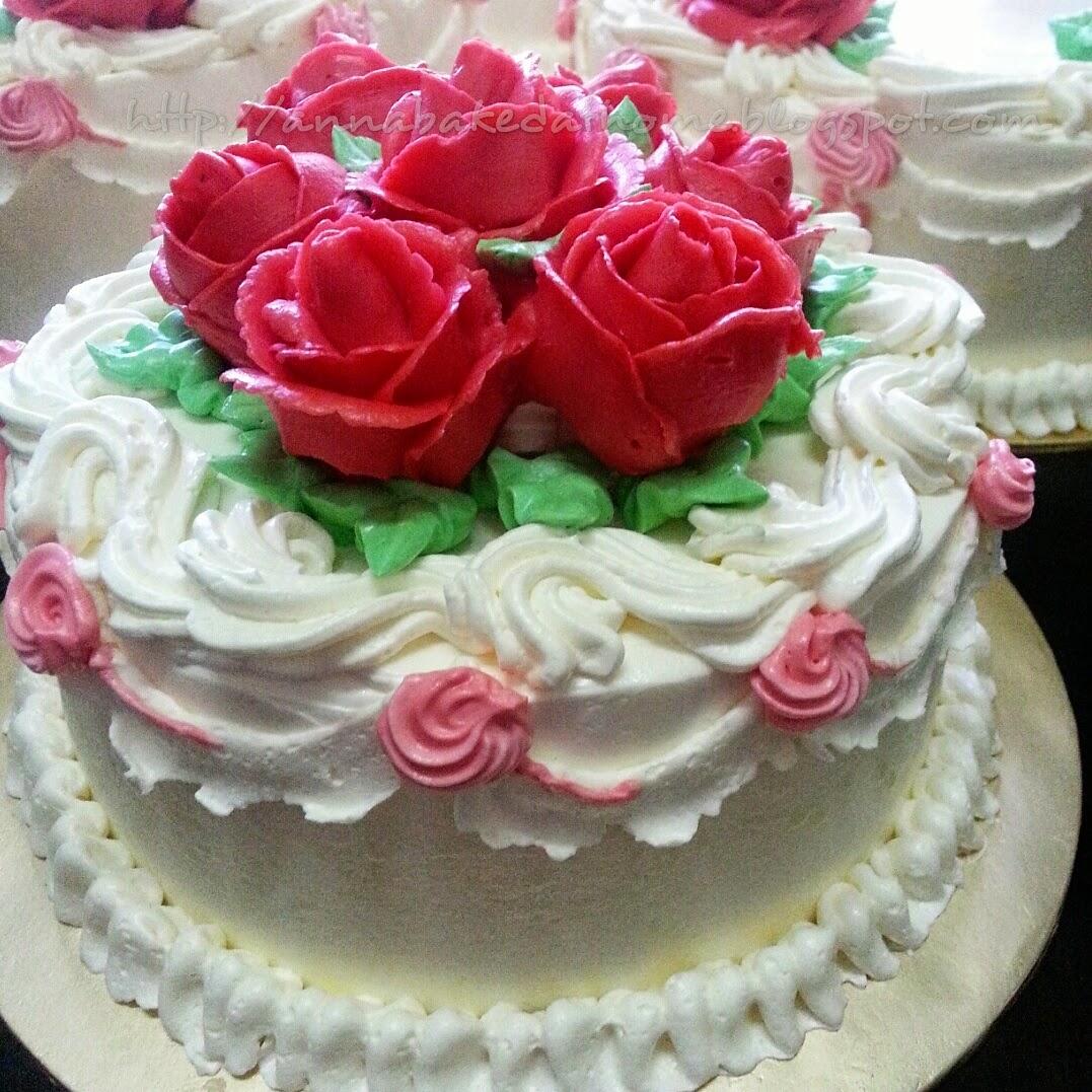 AnnaBakedHome KEK KAHWIN  WEDDING CAKE