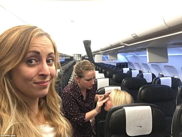 Three British Airways Passengers Got an Early Christmas Gift When They Were the Only Ones on a Business Class Flight!