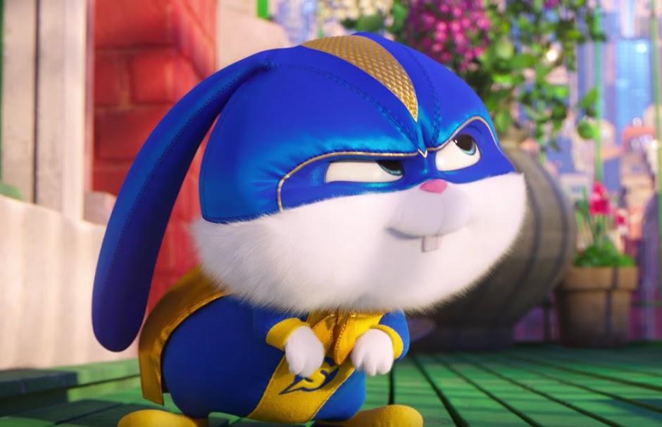 """Bola de Neve é um herói no trailer inédito de """"Pets: A Vida Secreta dos Bichos 2"""""""