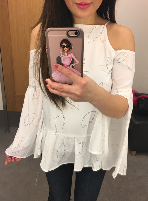 Cold Shoulder Top - www.iamstyle-ish.com