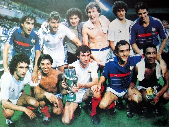 FRANCE-Uruguay 1985.