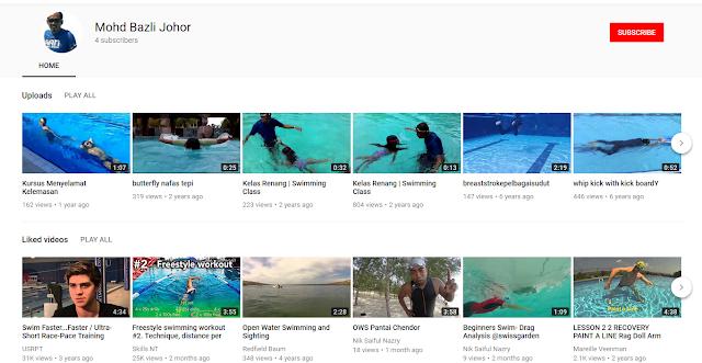 Tuan Mohd Bazli Johor  Swimming Instructor