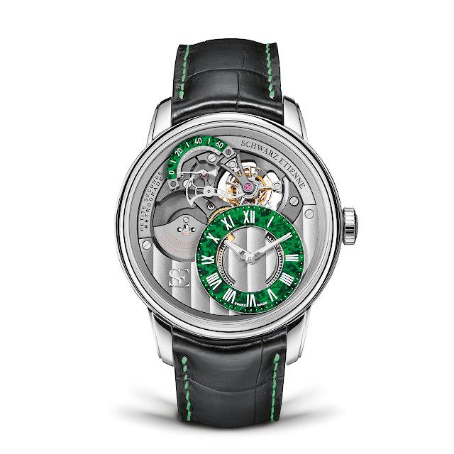 Schwarz Etienne Tourbillon PSR Mechanical Automatic Watch