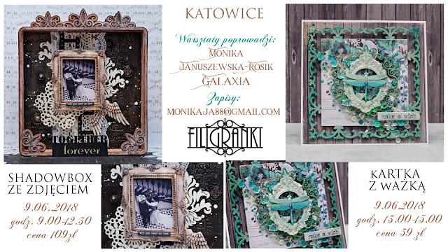 Shadowbox ze zdjęciem jako propozycja warsztatów w Katowicach