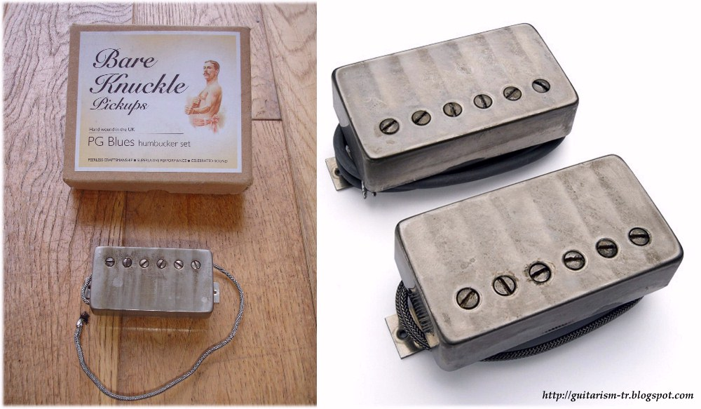 PG Blues Humbuckers w/ Aged Raw Nickel Covers