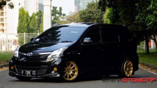 Modifikasi mobil Toyota Avanza Veloz