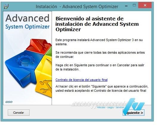 Advanced System Optimizer 3.9.1 Español