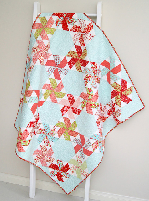 Little Ruby Quilt Free Pattern