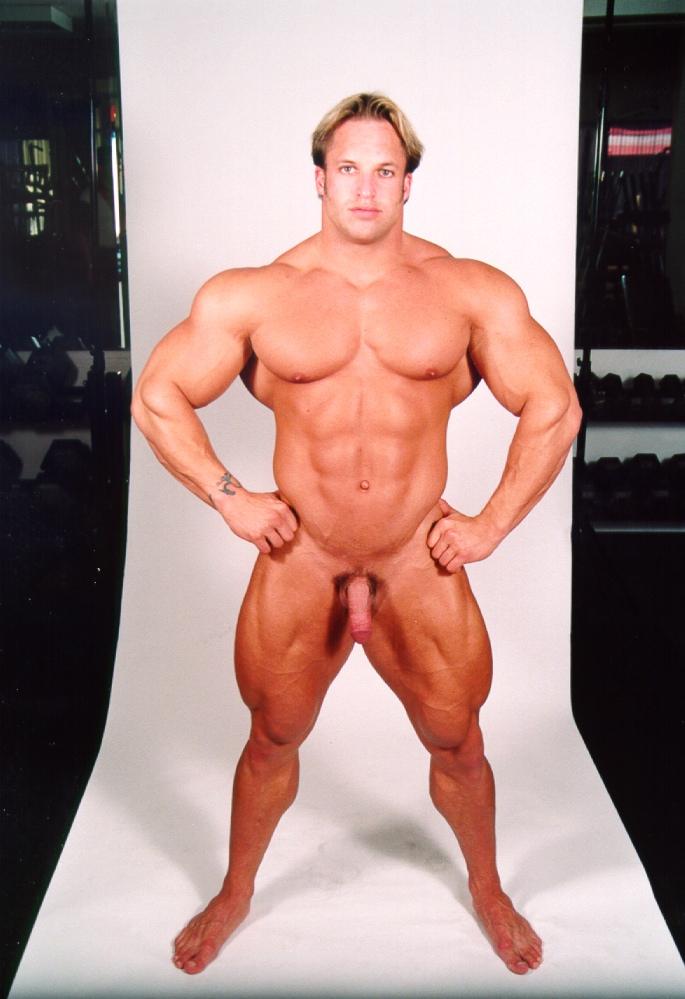 Pale zeus shows off his physique