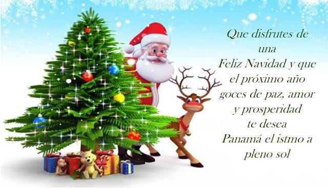 Feliz Navidad les desea elistmo.blogspot.com