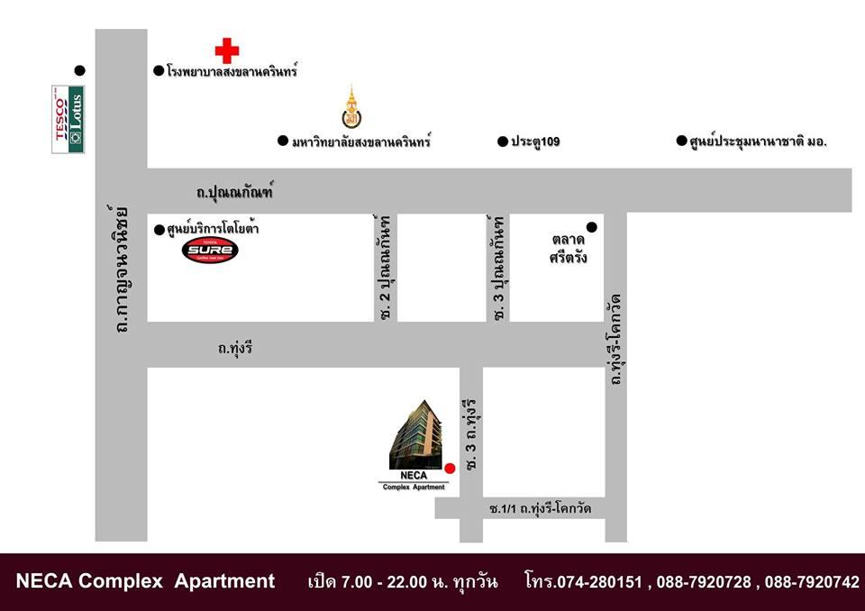 Neca complex apartment for Apartment complex map maker