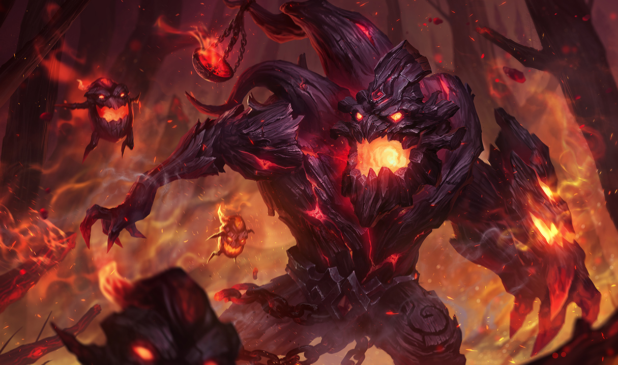 Sejuani Portrait: Surrender At 20: 4/27 PBE Update: Updated Maokai And