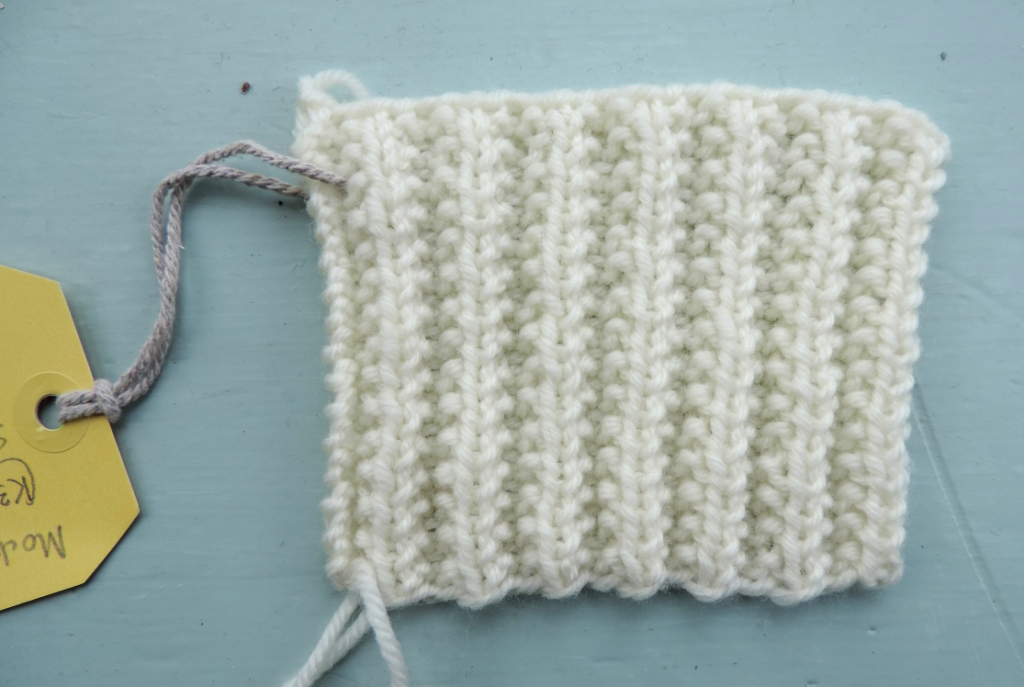 Knitting Now And Then Not Mistake Rib