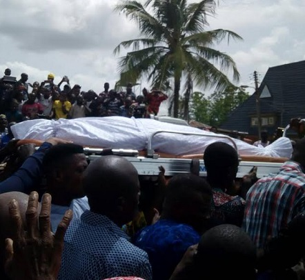 The Remains of Senator Isiaka Adeleke