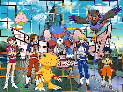 Poster Digimon Savers