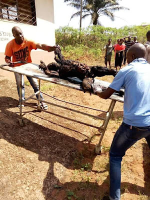 Graphic: Six persons including UNN students burnt to death in accident along Enugu-Nsukka road