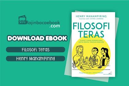 Download Novel Filosofi Teras by Henry Manampiring Pdf