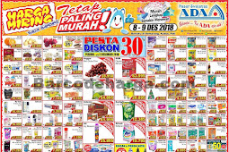 Katalog Promo ADA Pasar Swalayan Terbaru 15 - 16 Desember 2018