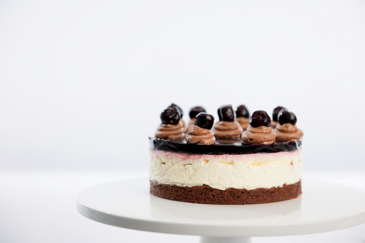How To Make A Black Forest Cheesecake: Classic 70's Style.