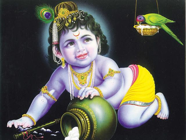Lord Krishna  Wallpaper For MacBook
