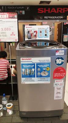 mesin cuci hole less tube milik nurul sufitri kapasitas 10 kg