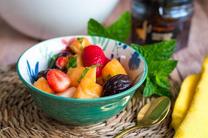 Salade de fruits et pruneaux