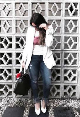 Zapatos Blancos 2017