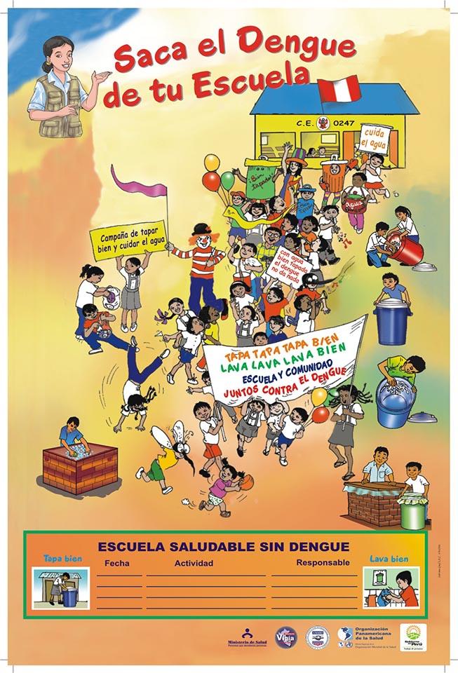 Saca el dengue de tu escuela