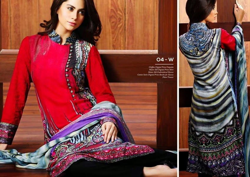 0a60cf439150 Matte Silk Collection 2014-2015 By Resham Ghar - She9