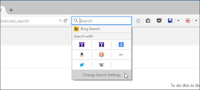 Change Search Settings