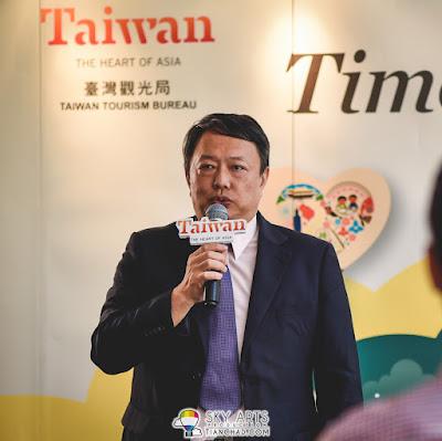 David Tsao, Director of Taiwan Tourism Bureau Kuala Lumpur Office (TTBKL)