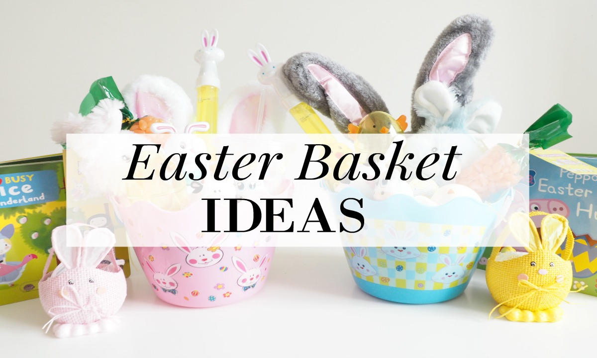 Budget friendly easter basket the pampered mum easter is a little earlier this year but i have been prepared for a while and put together the kids easter buckets early this year negle Choice Image