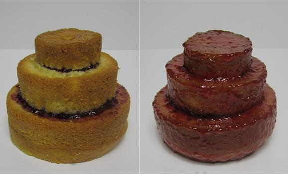 Mini-Vanilletörtchen mit Marmelade Anleitung 3