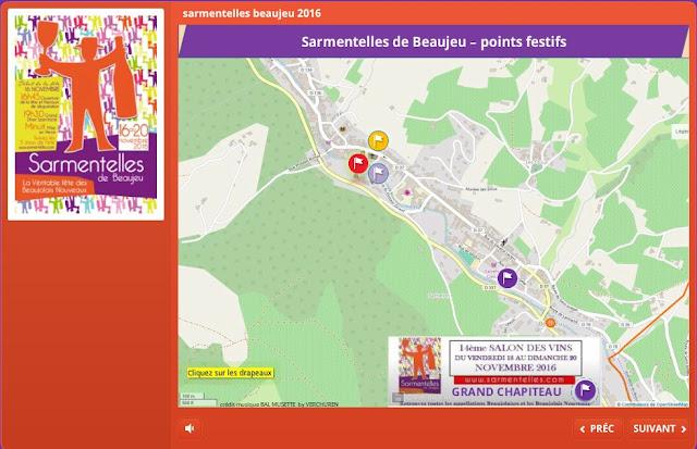 Beaujolais Nouveau 2016, plan festifs, animations, programme, accès, parking, navettes